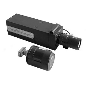 ICCD-02, CCD video camera with Gen. II intensifier